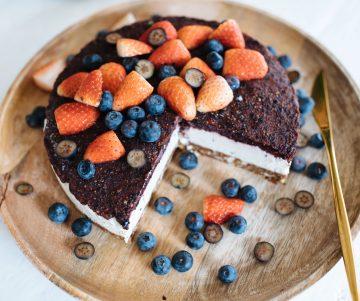 Raw Blueberry 'Cheesecake' Recept | Een paar en een reserve