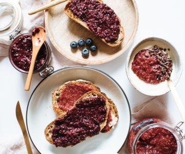 Berry Chia Jam Recept | Een paar en een reserve
