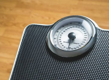 Gewicht verliezen tijdens de overgang