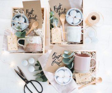 Maak deze eenvoudige geschenkdozen voor de koffieliefhebber in je leven