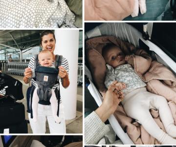 Mijn gids om met een baby te vliegen (zonder gek te worden!)