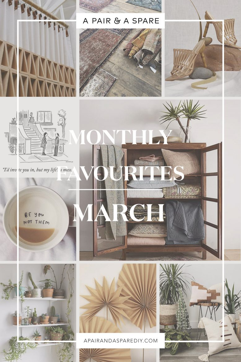 March Faves | Een paar en een reserve