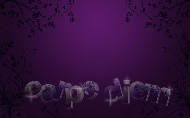 De andere betekenissen van carpe diem